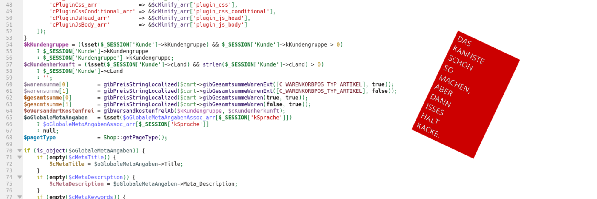 Ugly Kit Code